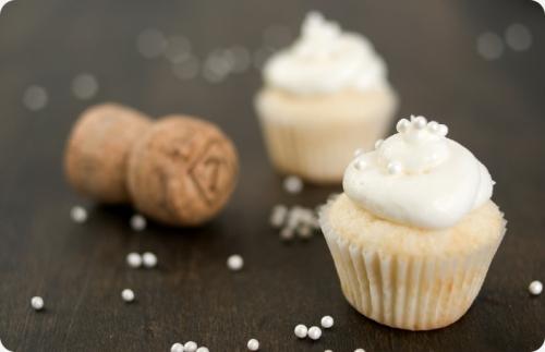 cupcake de cava y limón