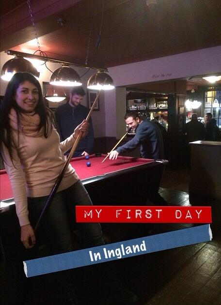 Mi primer día en Inglaterra