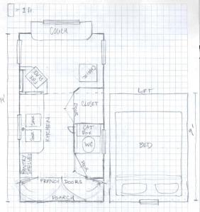 Planols tiny house